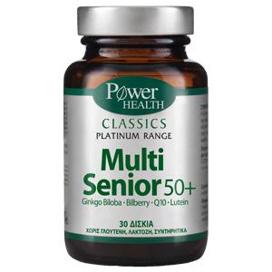 Power Health Classics Platinum Range Multi Senior 50+ 30 δισκία