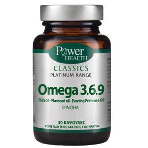Power Health Classics Platinum Omega 3.6.9 30 κάψουλες