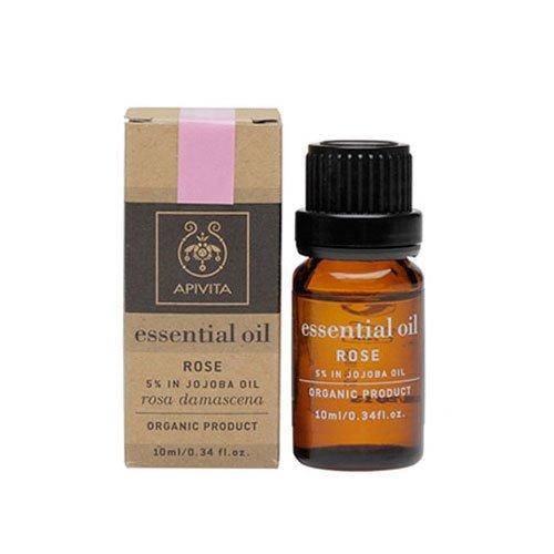 Apivita Essential Oil Rose – Τριαντάφυλλο Σε Λάδι Jojoba 10ml