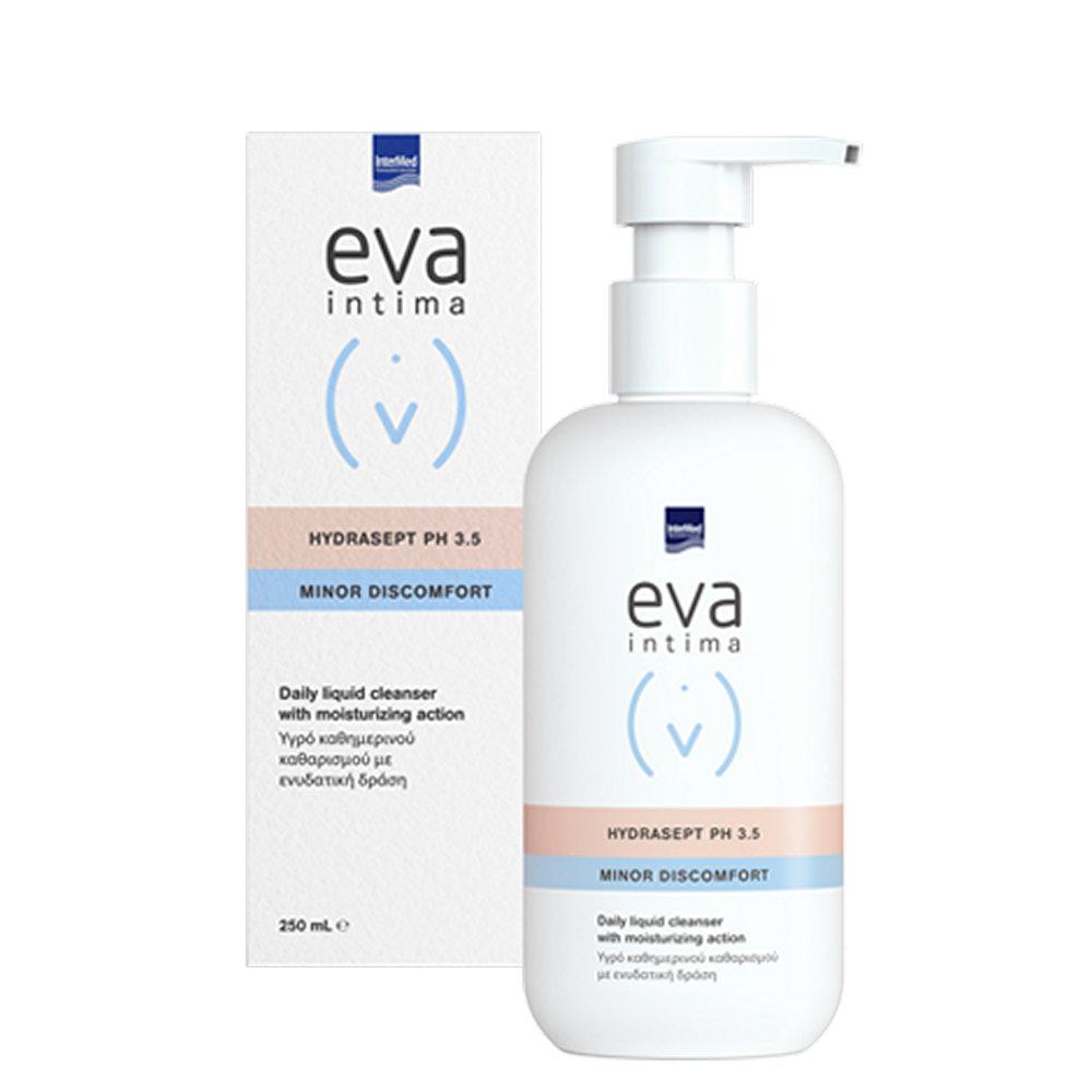 Intermed Eva Intima Wash Hydrasept Καθημερινός καθαρισμός ευαίσθητης περιοχής 250ml