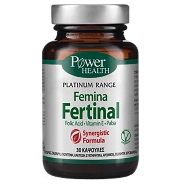 Power Health Classics Platinum Femina Fertinal 30 κάψουλες