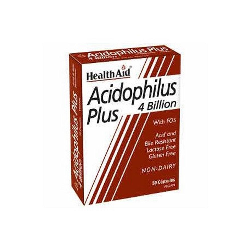 HealthAid Acidophilus Plus 30 κάψουλες