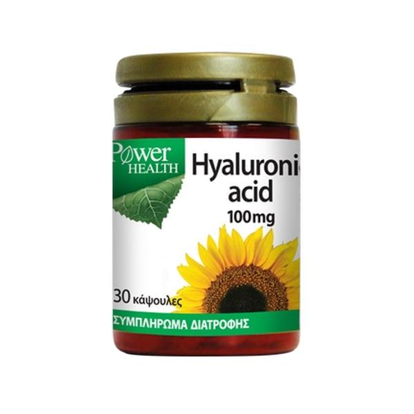 Power Health Hyaluronic Acid 100mg 30 κάψουλες