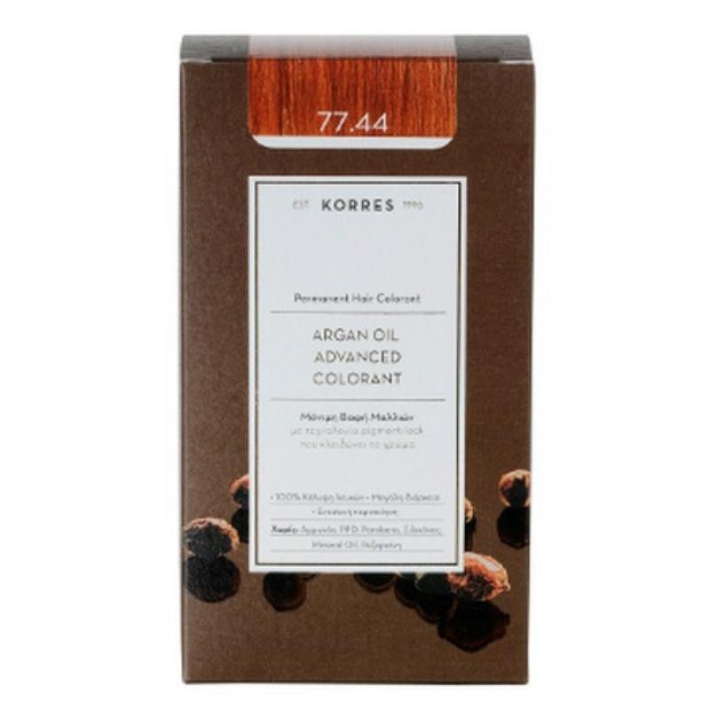 Korres Argan Oil Advanced Colorant Ξανθό 'Εντονο Χάλκινο 77.44