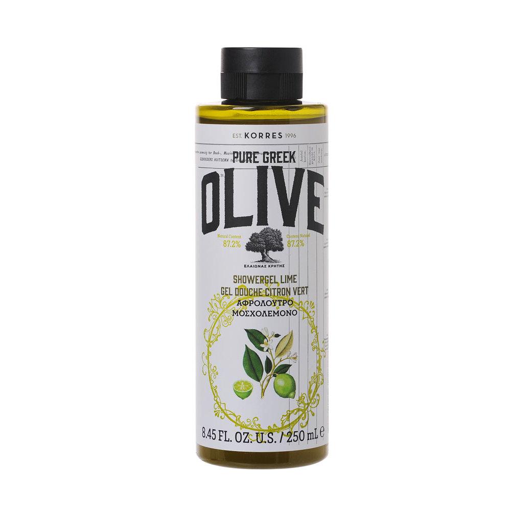 Korres Pure Greek Olive Αφρόλουτρο Μοσχολέμονο 250ml
