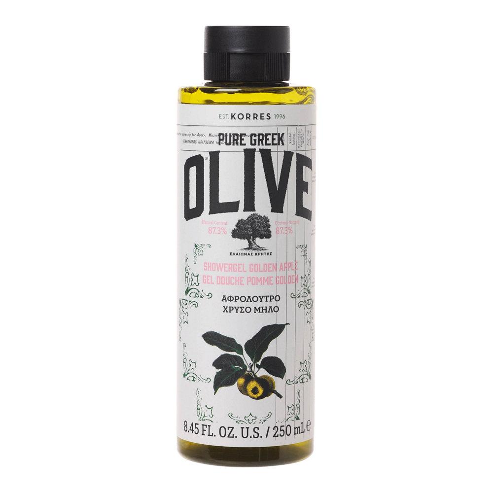 Korres Pure Greek Olive Αφρόλουτρο Χρυσό Μήλο 250ml