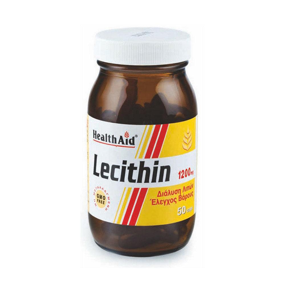 HealthAid Lecithin 1200mg 50 κάψουλες