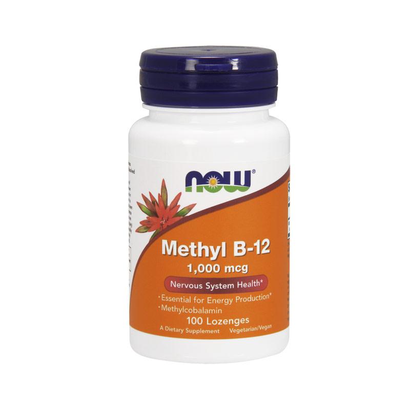 Now Foods Methyl B-12 1000mcg 100 παστίλιες