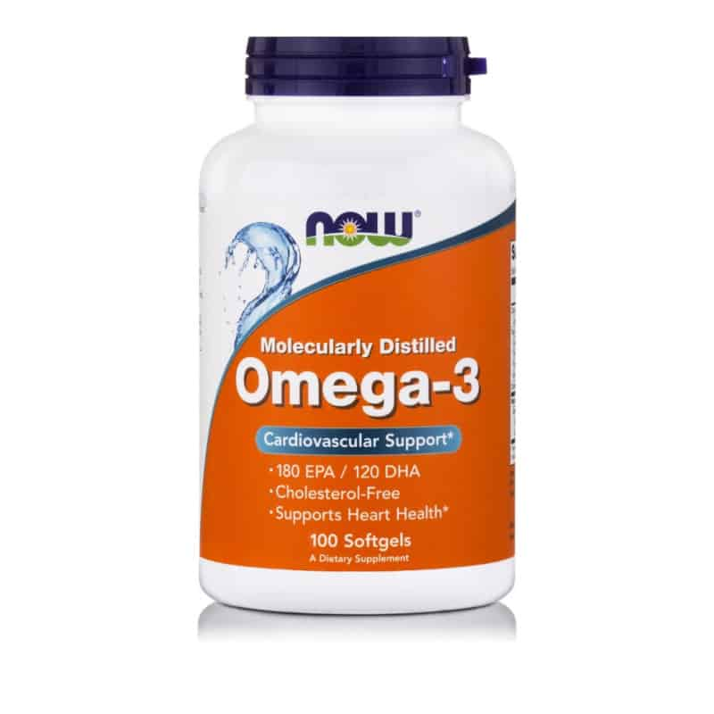 Now Foods Omega-3 100 μαλακές κάψουλες