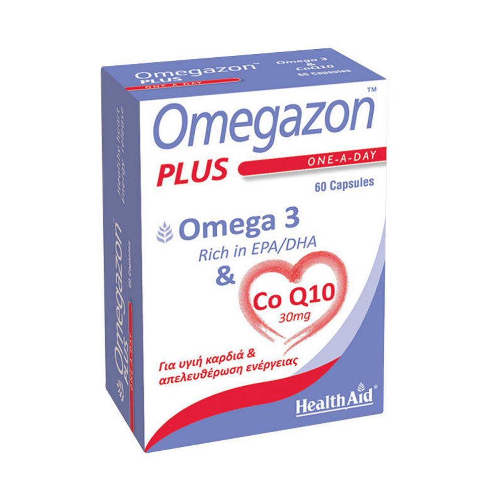 HealthAid Omegazon PLUS 60 κάψουλες