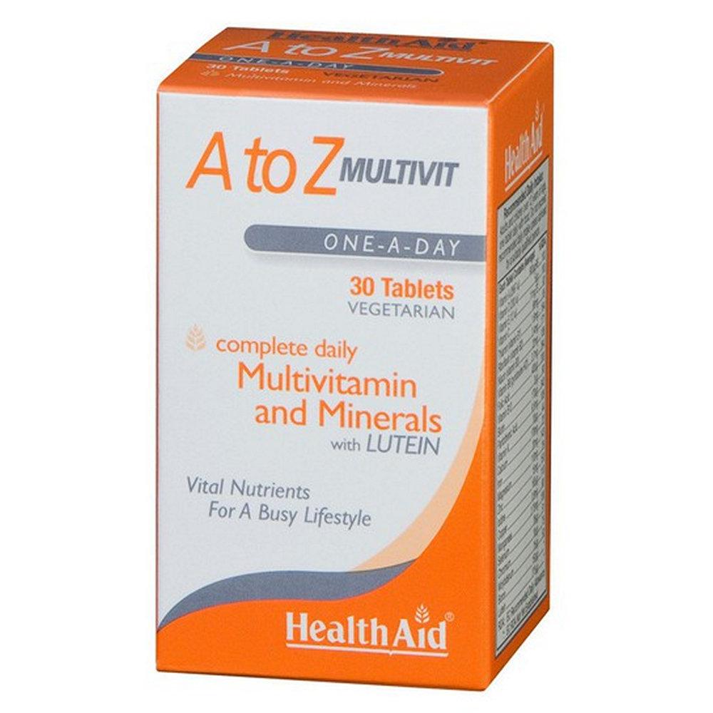HealthAid A To Z Multivit 30 ταμπλέτες