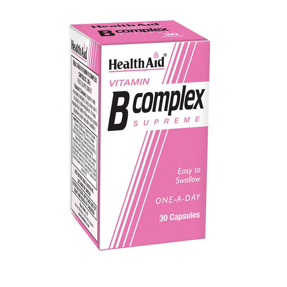 HealthAid Vitamin B Complex Supreme 30 κάψουλες