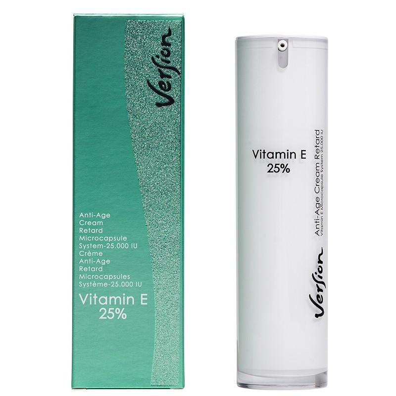 Version Vitamin E 25% κρέμα νυκτός 50ml