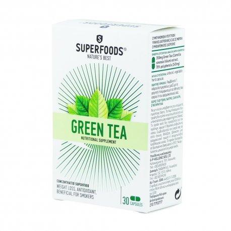 Superfoods Πράσινο Τσάϊ 30 κάψουλες