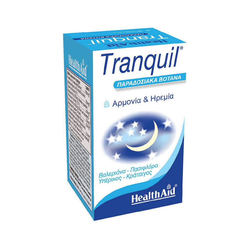 HealthAid Tranquil Άγχος 30 κάψουλες