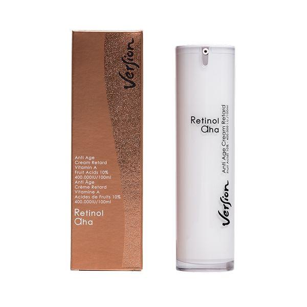 Version Retinol 10% AHA Face Cream κρέμα νύχτας 50ml
