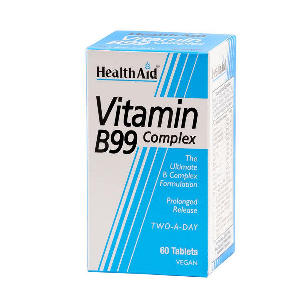HealthAid Vitamin B99 Complex 60 ταμπλέτες