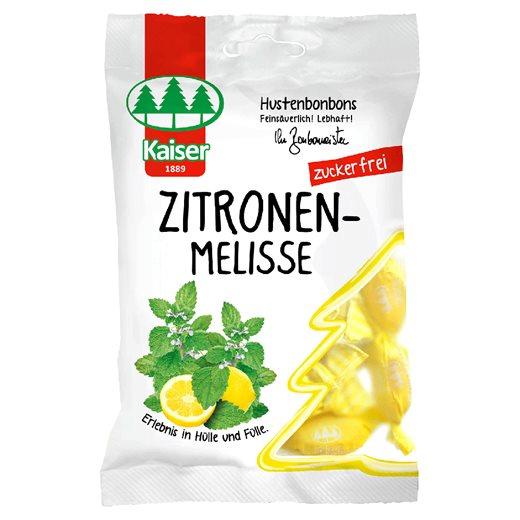 Kaiser Zitronenmelisse - Μελισσόχορτο & 13 Βότανα Καραμέλες για το Βήχα & τον Ερεθισμένο Λαιμό 60gr