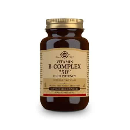 Solgar Formula B-Complex 50, 50 φυτικές κάψουλες