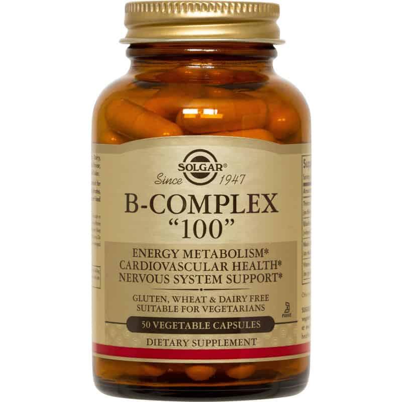 Solgar Formula B-Complex 100, 50 φυτικές κάψουλες