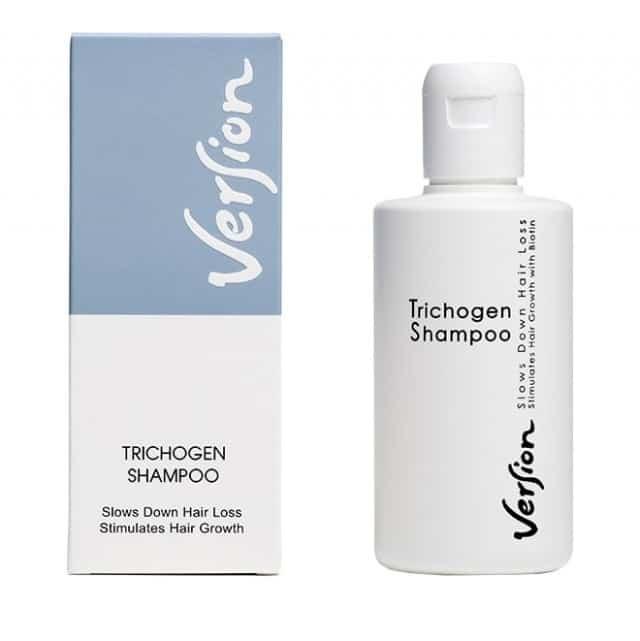 Version Trichogen Shampoo Δυναμωτικό σαμπουάν για λιπαρά μαλλιά 200ml