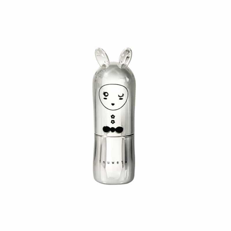 INUWET Bunny Lip Balm - Silver Metal Edition