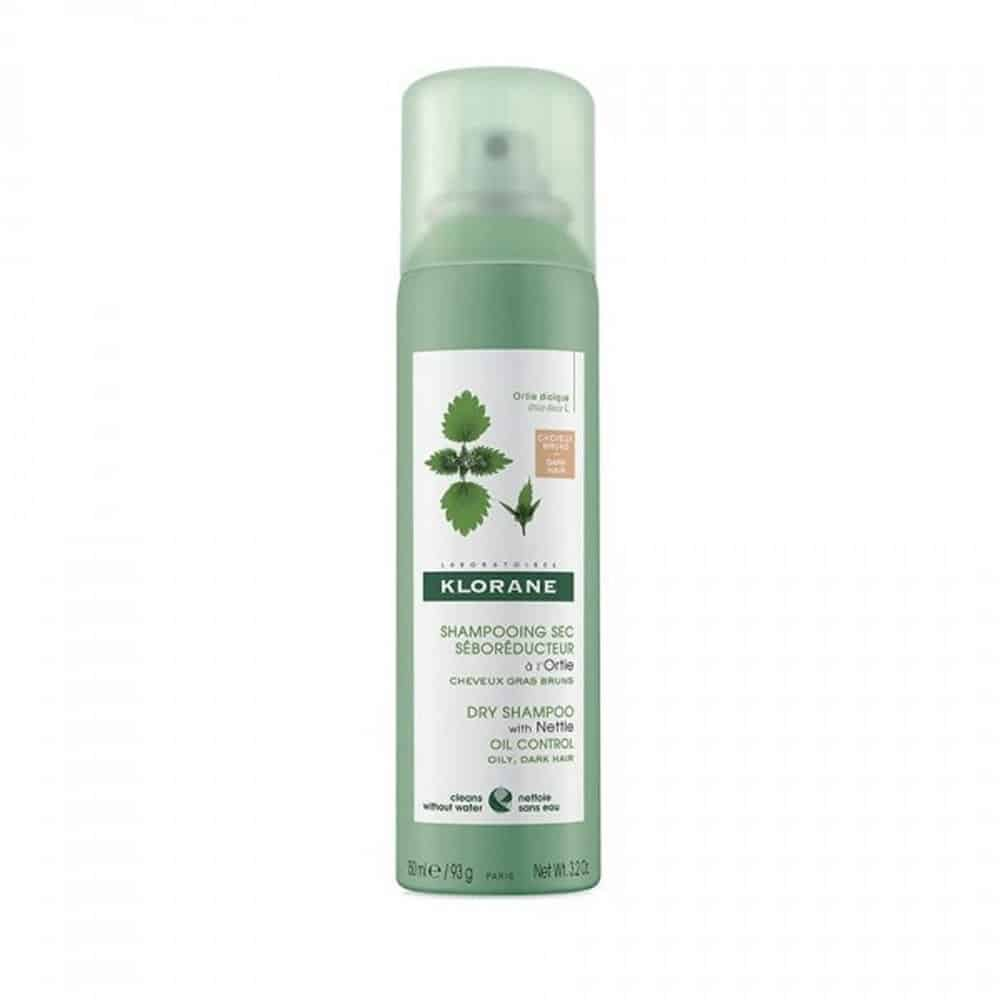 Klorane Dry Shampoo with Nettle dark hair Oily Control 150ml