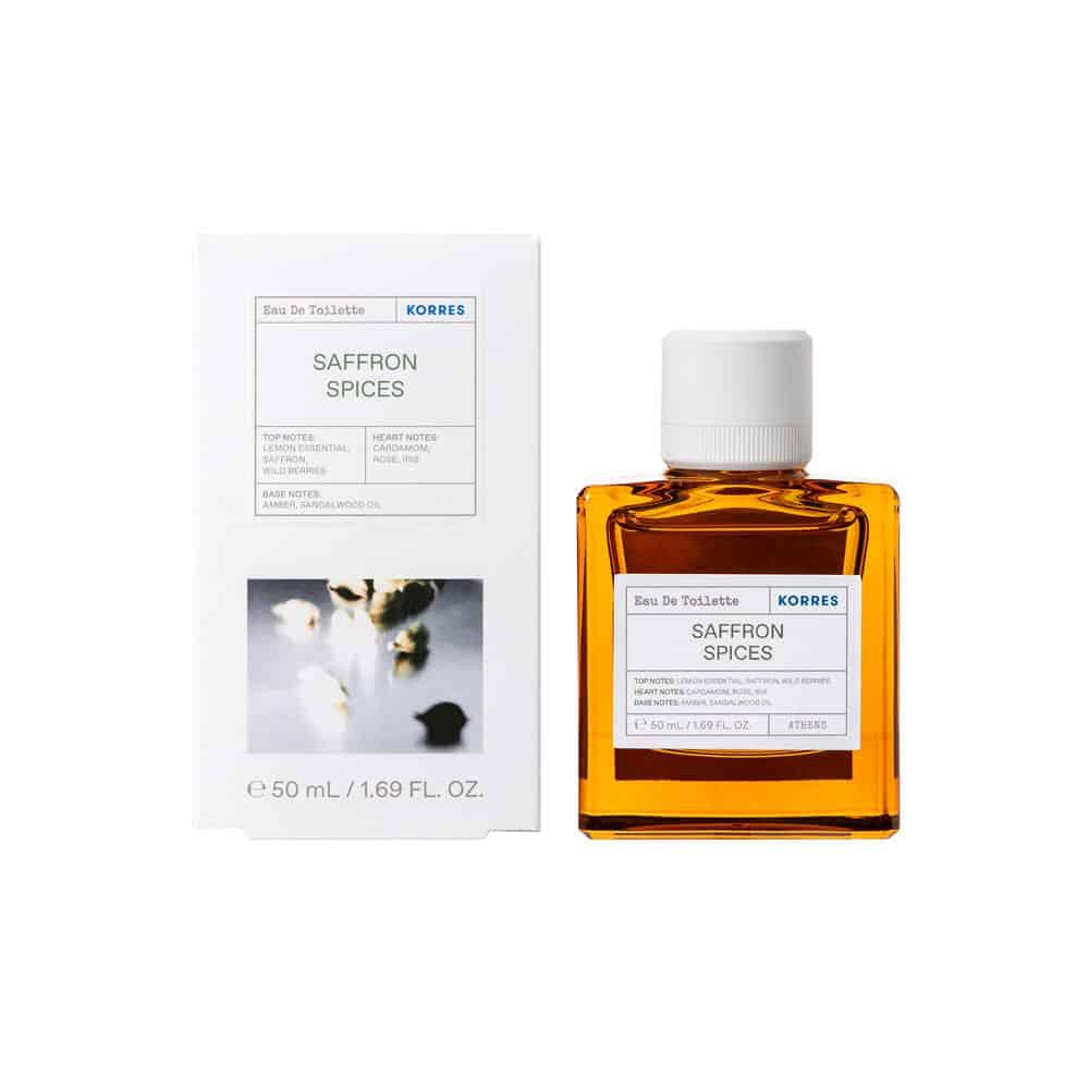 Korres Saffron Spices Eau De Toilette 50ml