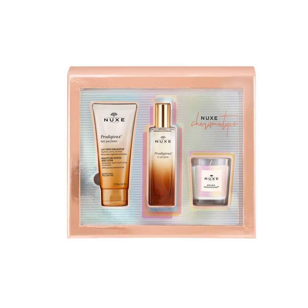 Nuxe Charismatique Set Parfum 100ml & Body Lotion 100ml & Αρωματικό Κερί 70g