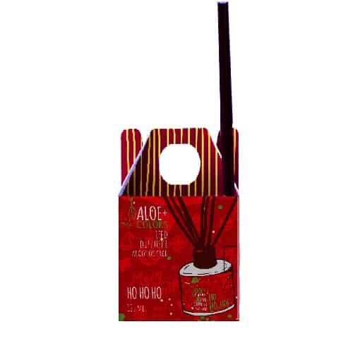 Aloe+Colours Reed Diffuser Set Ho Ho Ho 125ml αρωματικό χώρου