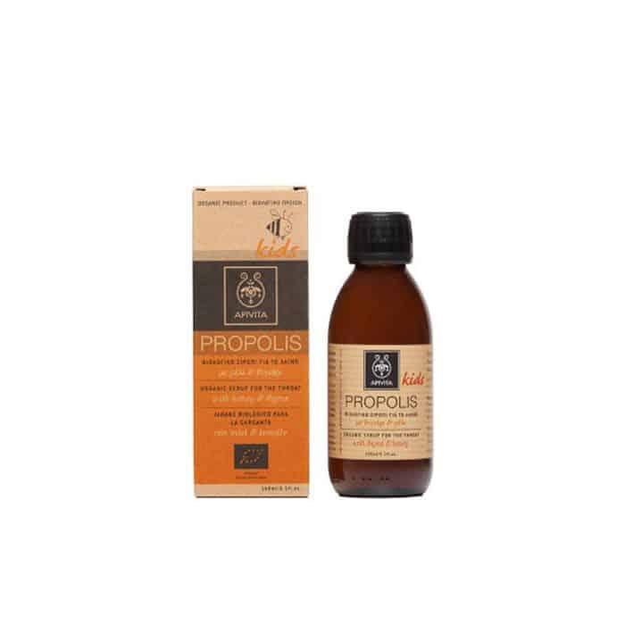 Apivita Kids Organic Syrup For The Throat 150ml