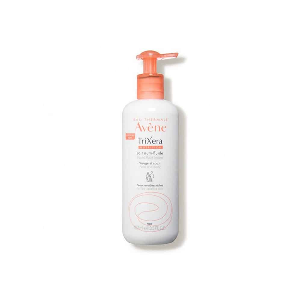 Avene Eau Thermale Trixera Nutrition Lait Nutri Fluide Θρεπτικό Γαλάκτωμα για Ξηρό Ευαίσθητο Δέρμα 400ml
