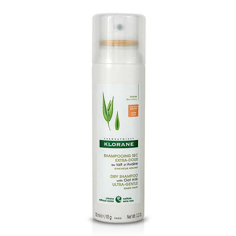 klorane avoine dry shampoo dark hair 150ml