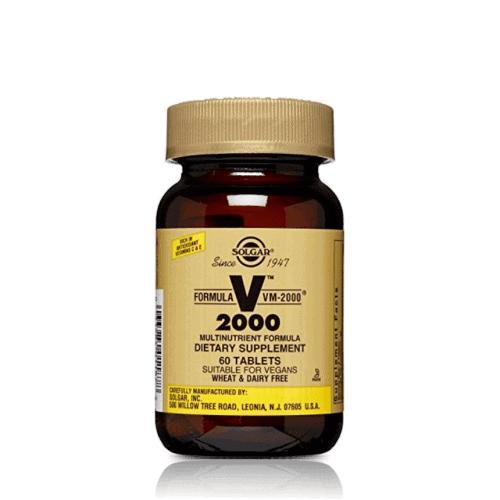Solgar VM-2000, 60 ταμπλέτες