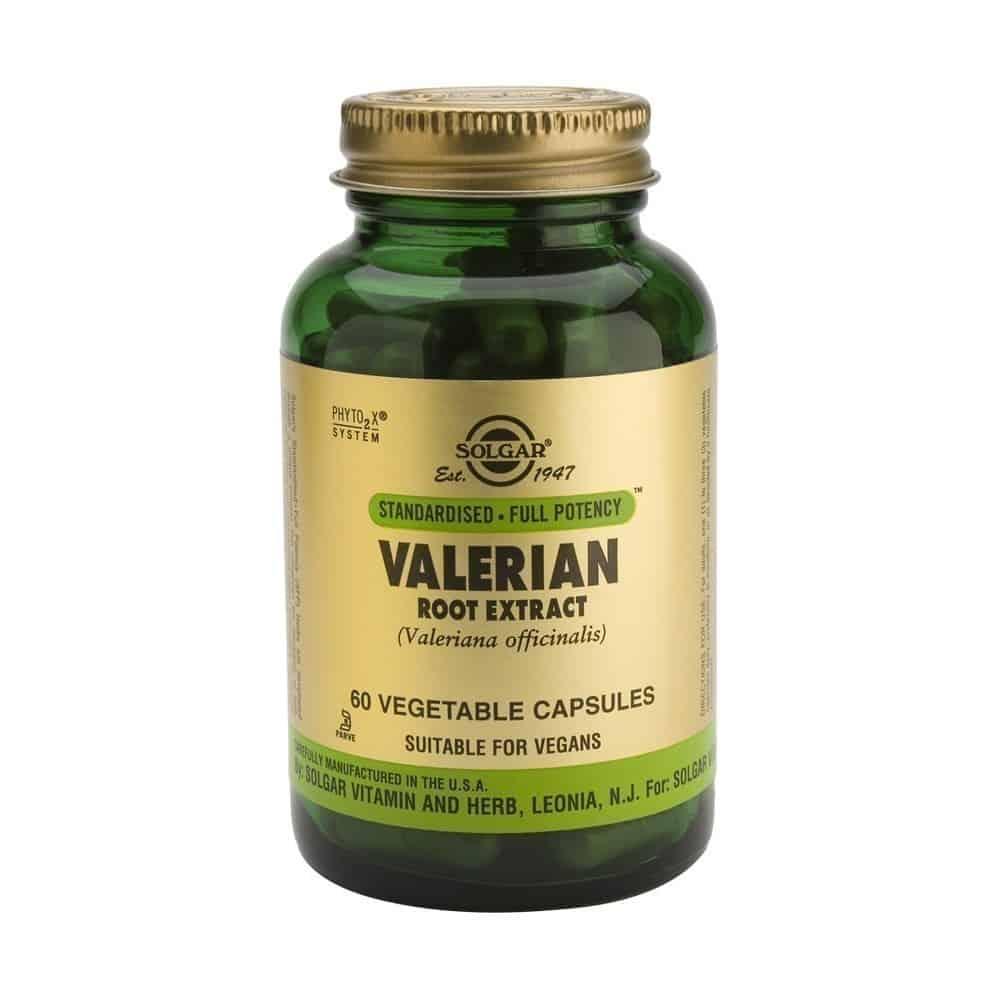 Solgar Valerian Root Extract, 60 κάψουλες