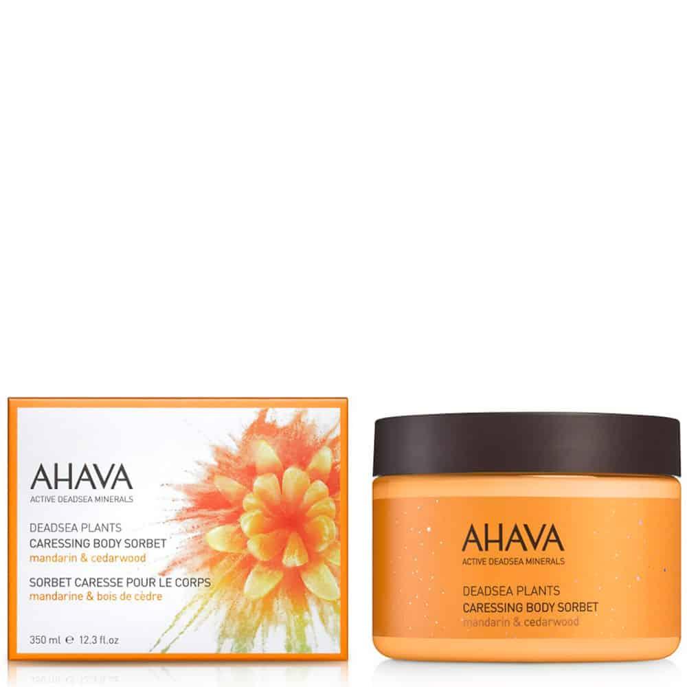 Ahava Dead Sea Plants Caressing Body Sorbet Mandarin Cedarwood 350ml