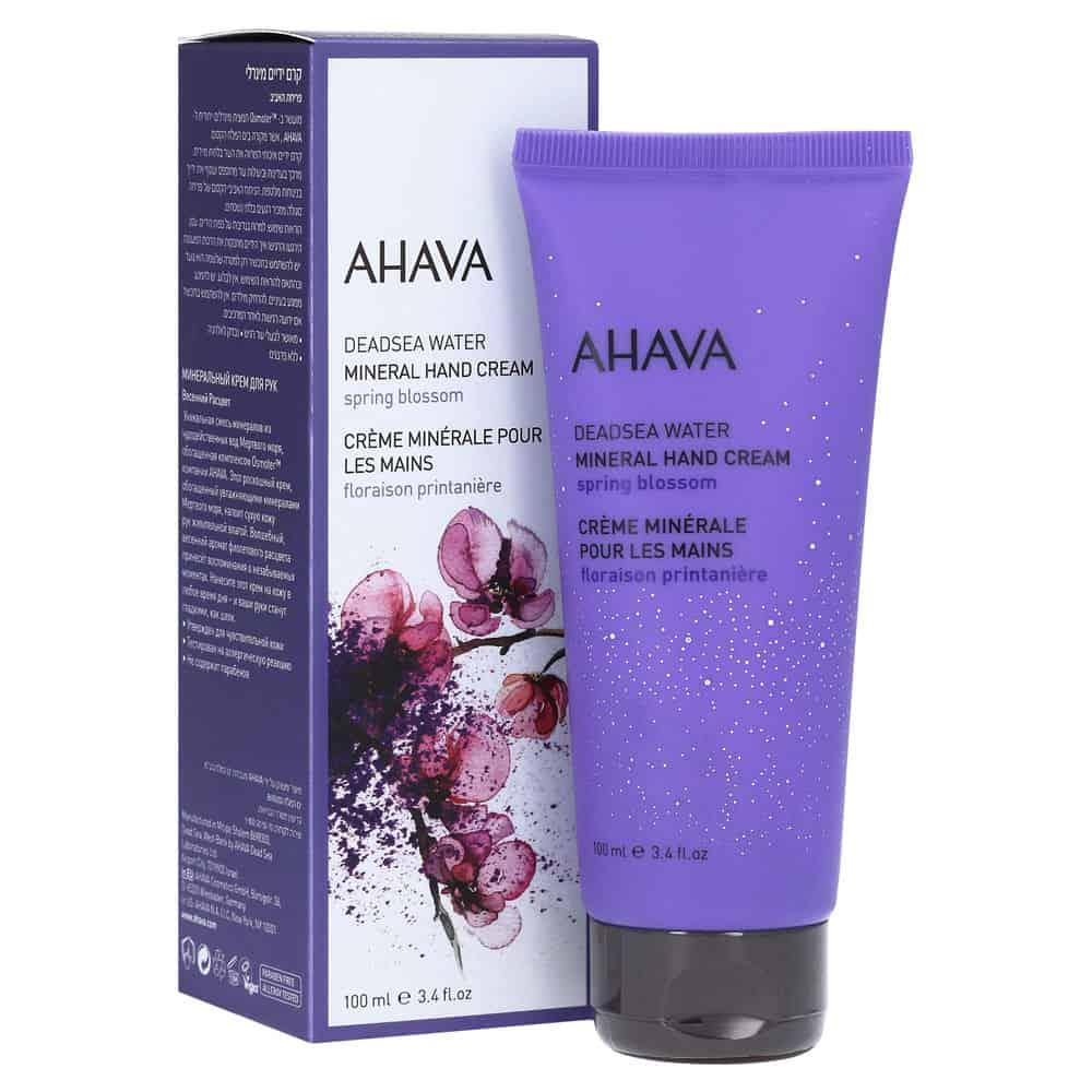 Ahava Dead Sea Water Mineral Hand Cream Spring Blossom 100ml
