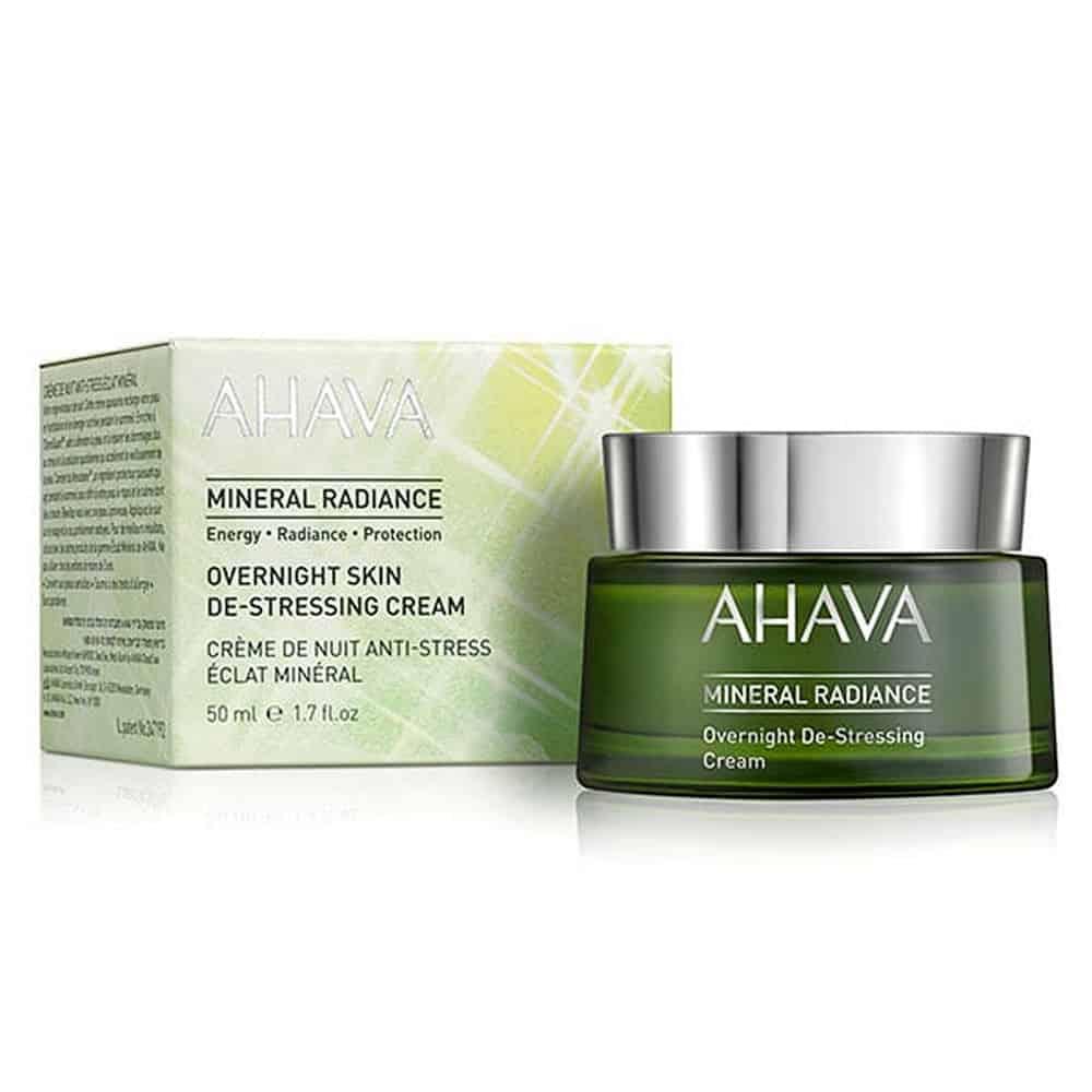 Ahava Mineral Radiance Overnight De Stressing Cream 50ml