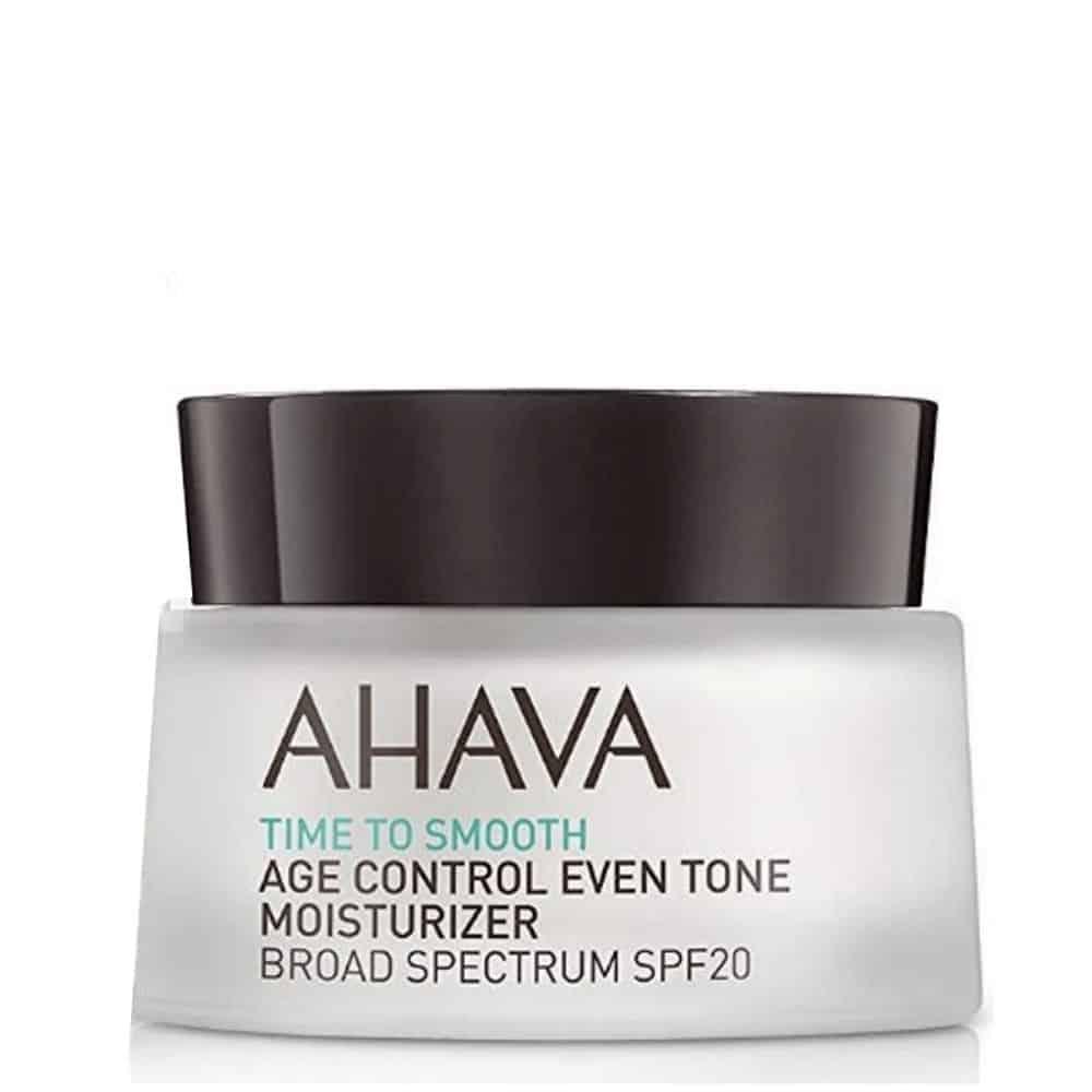 Ahava Time To Smooth Age Control Moisturizer Broad Spectrum Spf20 50ml