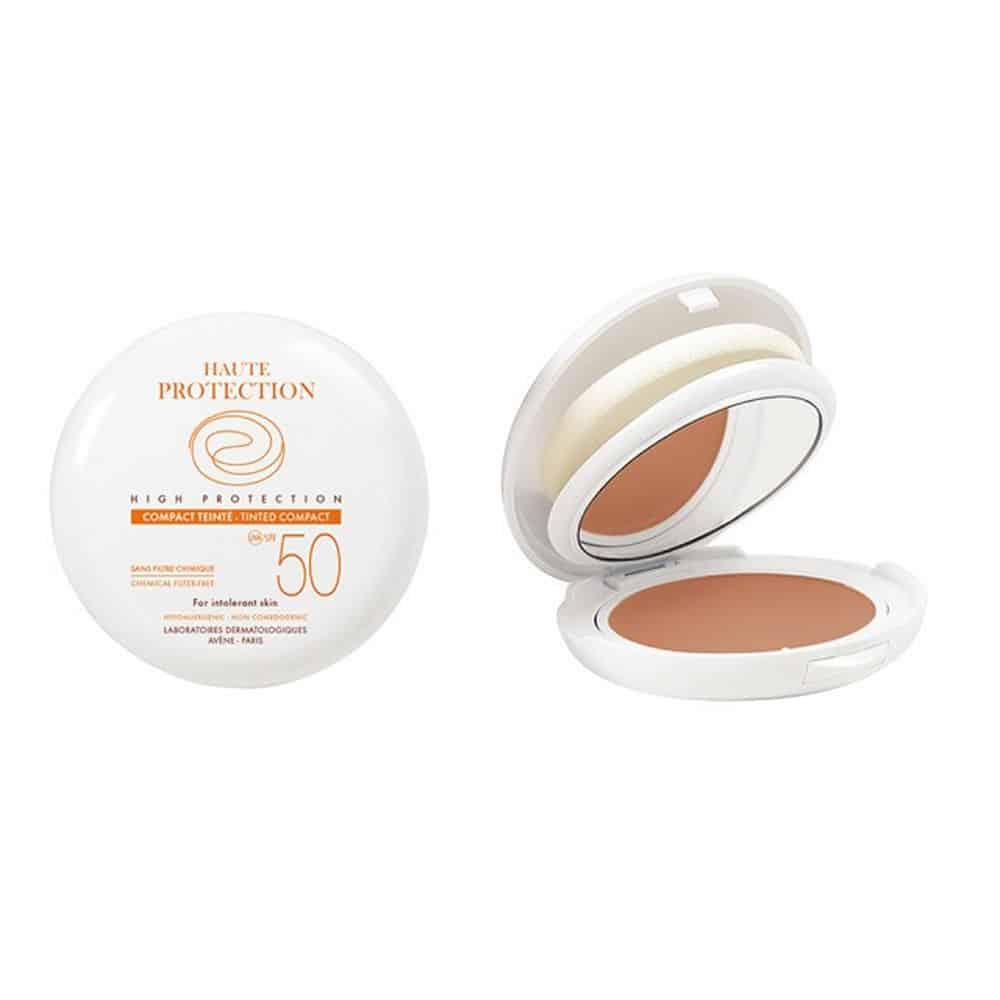 Avene Soins Solaires Compact Teinté SPF50+ Sable Make-up 10gr