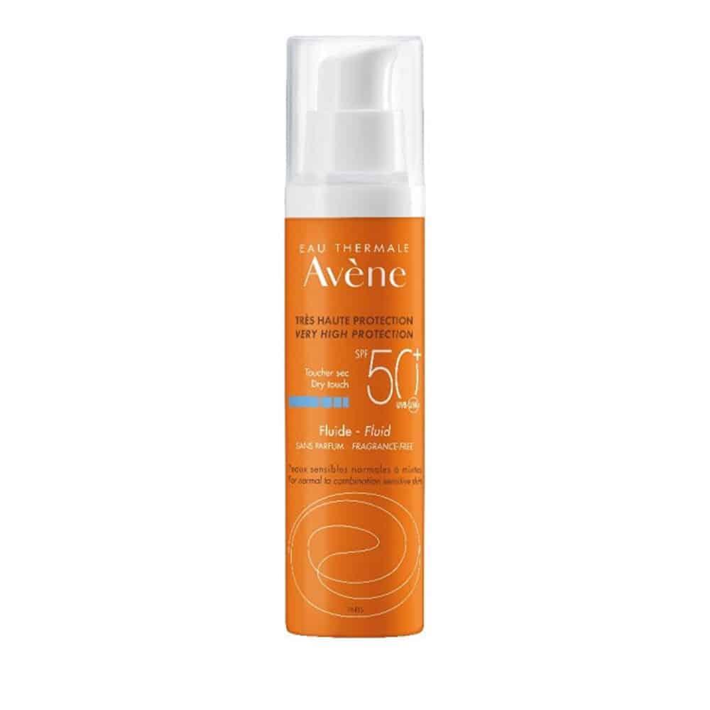 Avene Soins Solaires Fluide SPF50+ Sans Parfum 50ml