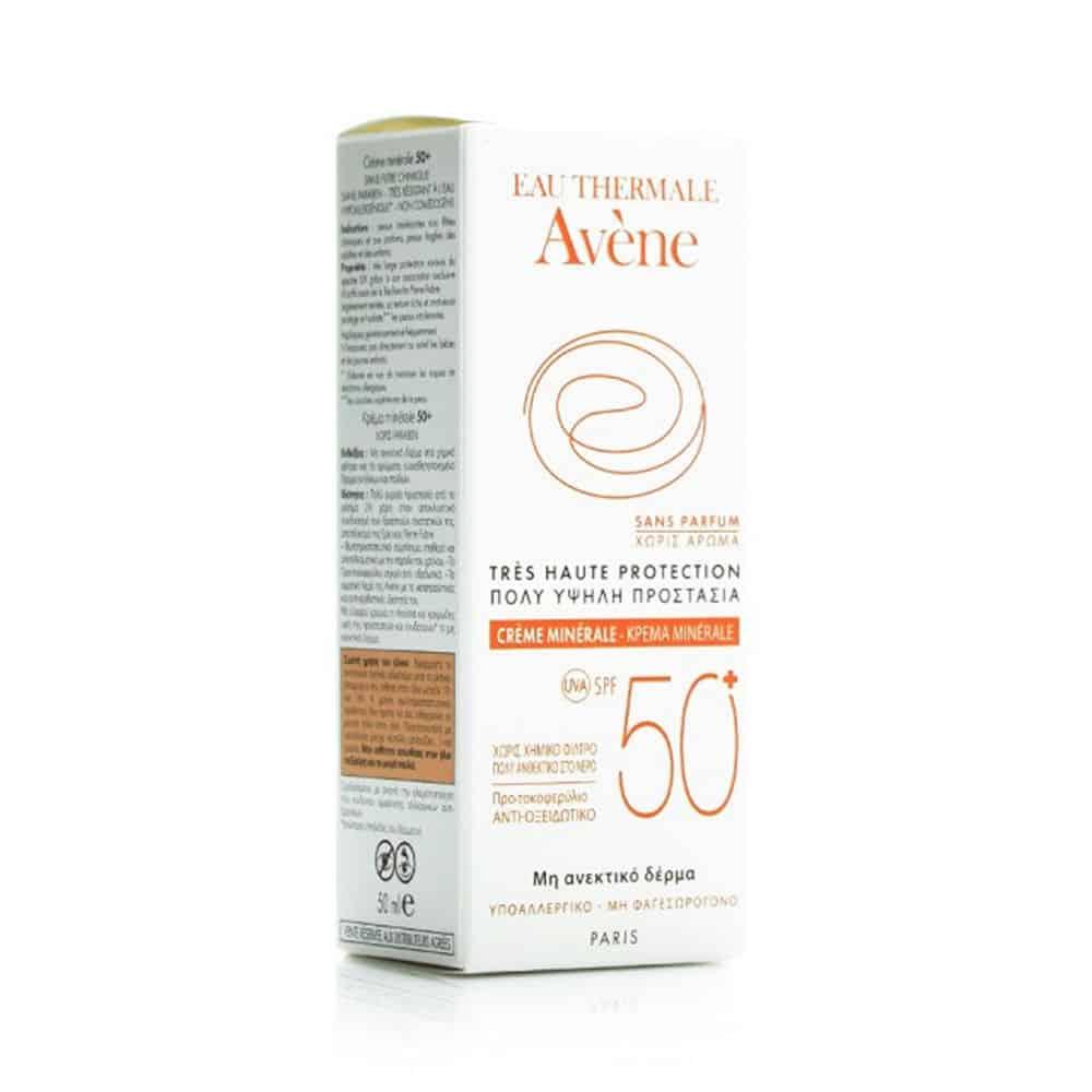Avene Soins Solaires, Minerale Creme 50ml