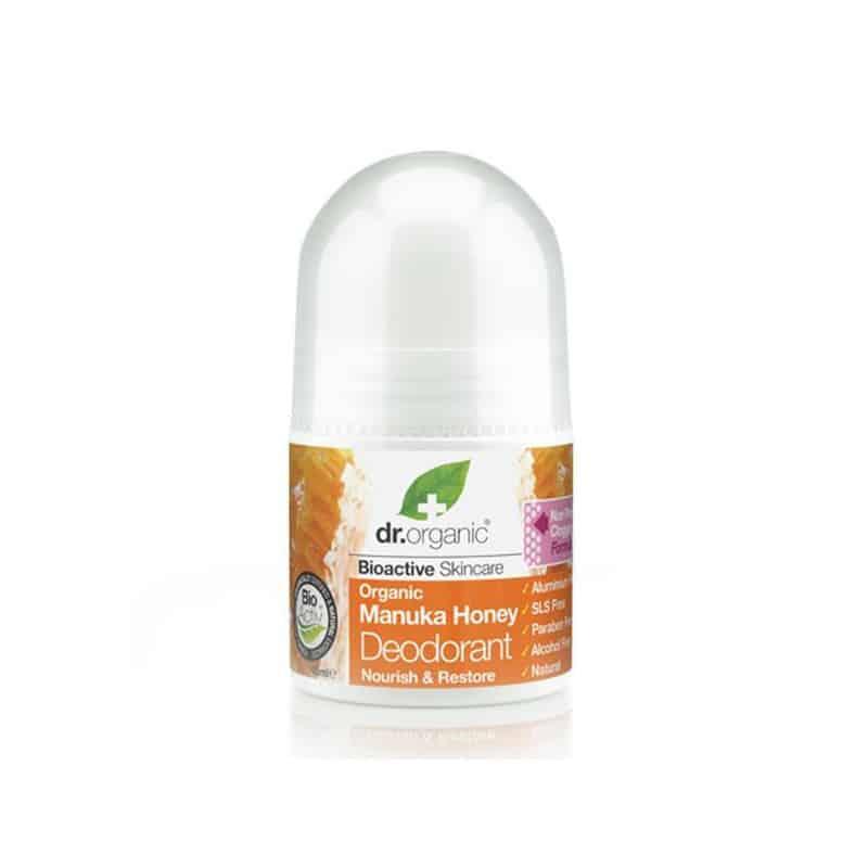 Doctor Organic Manuka Honey Deodorant 50ml pricelesspharmacy αποσμητικο
