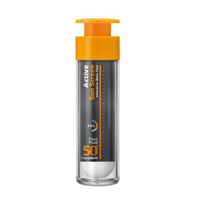Frezyderm Ac-Norm Sun Screen Fluid SPF 50 με ανθρακα