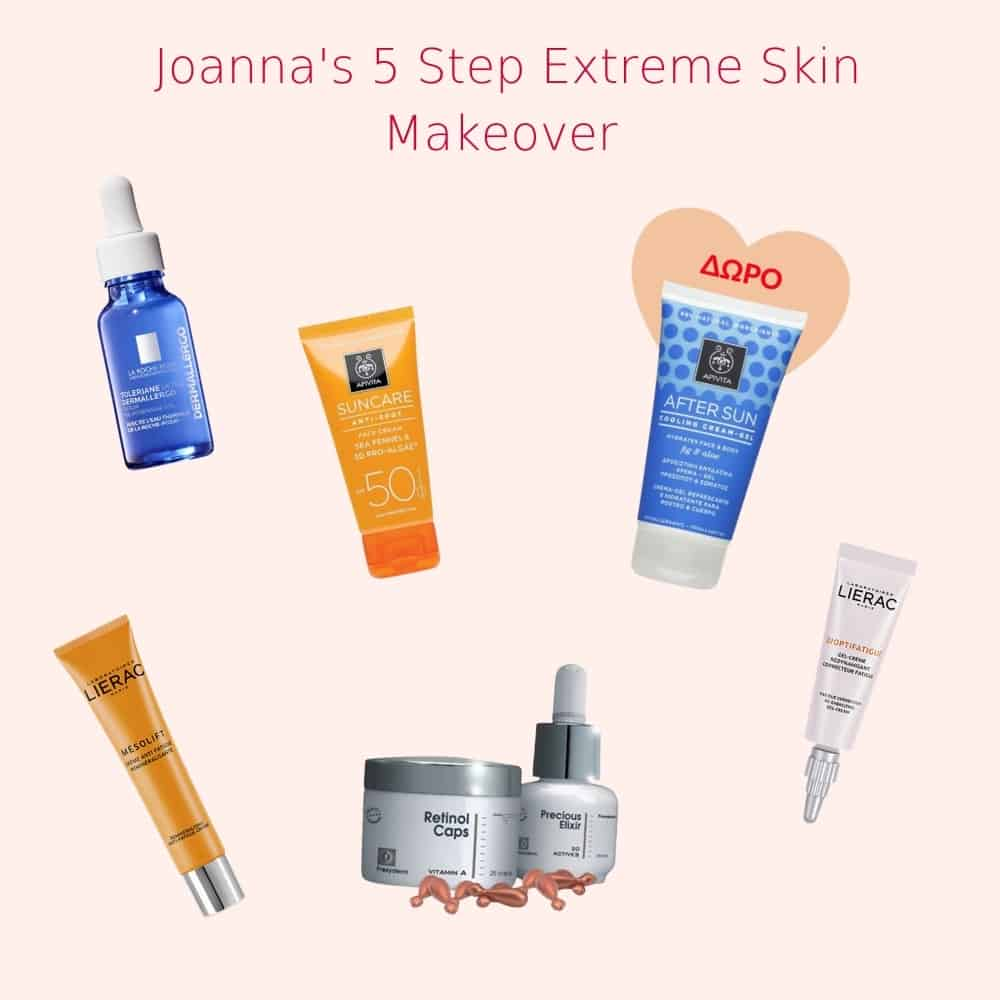 Joannas 5 step Extreme skin makeover antiaging