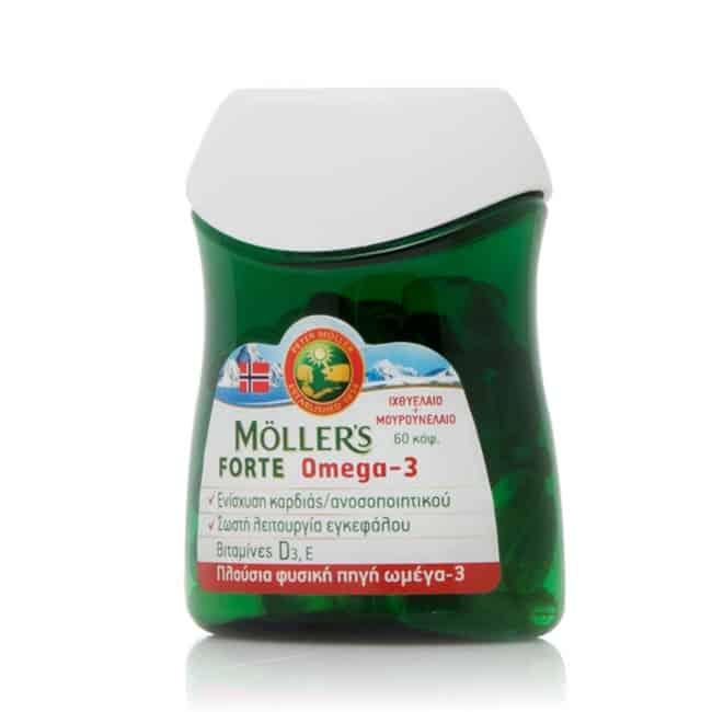 Mollers Forte Omega 3 60 kapsoules