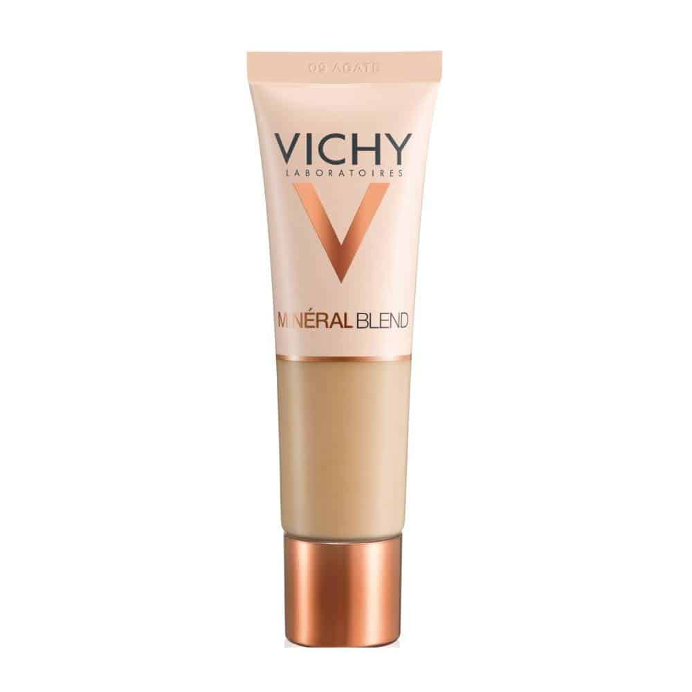 Vichy MineralBlend Hydrating Fluid Foundation (09-Cliff) make up, 30ml 1