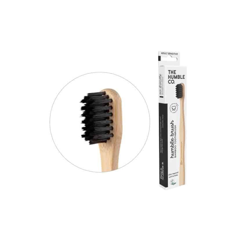 humble brush adult black sensitive compact 2