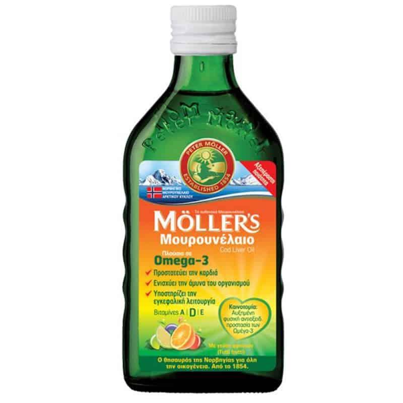 mollers mourounelaio me geush fruits 250ml