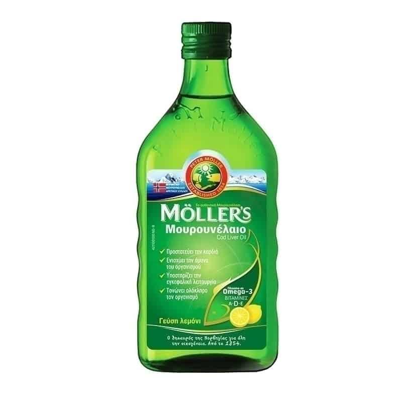 mollers mourounelaio me geush lemon 250ml